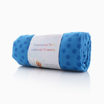 Yoga Towel by Feet and Right in Blue