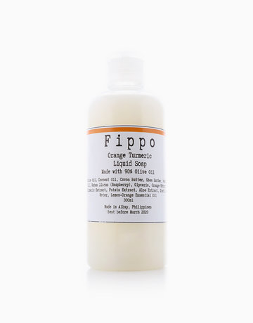 Orange + Turmeric Soap by Fippo Handcrafted Bath & Body
