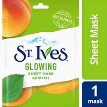 St. ives sheet mask glowing apricot   hero
