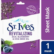 St. ives sheet mask revitalizing blueberry   hero
