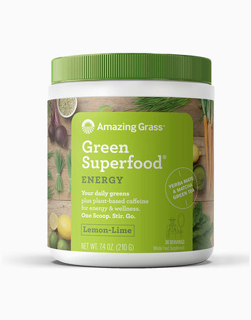 Green Superfood Energy Lemon Lime (210g) by Amazing Grass