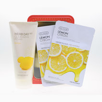 Tfs cleanser and mask sheet set lemon (p295)