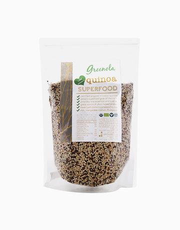 Organic Tri-color Quinoa (500g) by Greenola