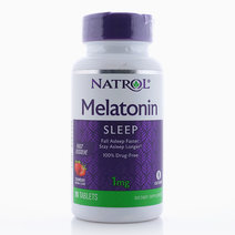 Natrol Melatonin 1mg Fast Dissolve Strawberry Flavor (90 Tablets) by Natrol