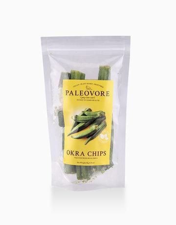 Okra Chips (50g) by Paleovore