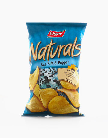 Sea Salt & Pepper Potato Chips  by Lorenz