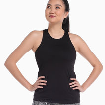 Women's Infinity Tank in Black by Gametime
