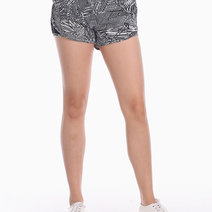 Women's Running Shorts VII in Black and White by Gametime