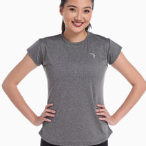 2   teo women s performance shirt in premium gray   small (front)