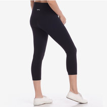 Hold Your Core Crop Leggings in Black by Core Athletics