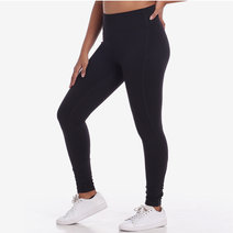 Pace Yourself 7/8s Leggings in Black by Core Athletics