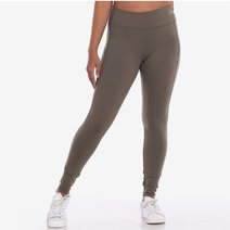 Pace Yourself 7/8s Leggings in Army Green by Core Athletics