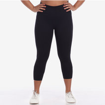 Pace Yourself Crop Leggings in Black by Core Athletics