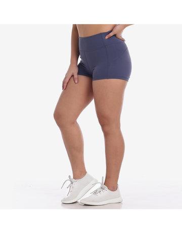 Train Insane Shorts in Blue Grey by Core Athletics