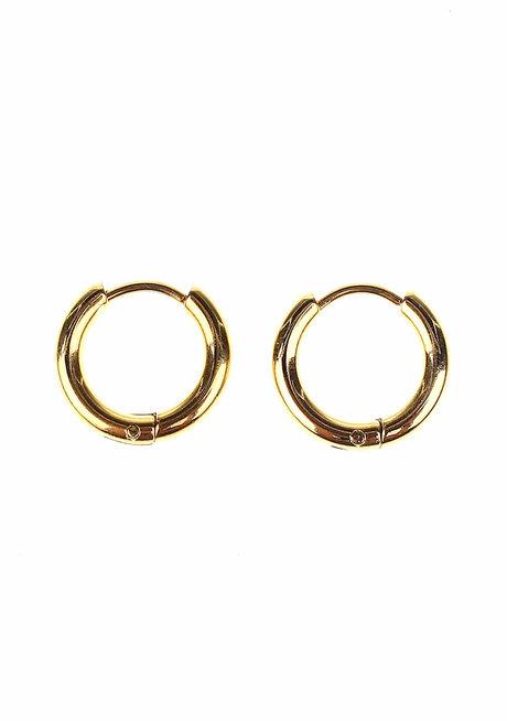 Perrie 1.5cm Hoop Earrings by Dusty Cloud