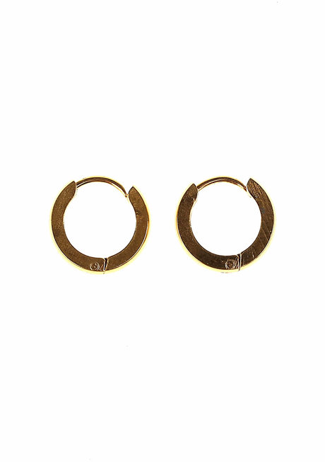 Carol 1.25cm Hoop Earrings by Dusty Cloud
