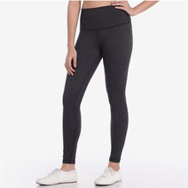 Hold Your Core 7/8s Leggings in Acid Black by Core Athletics