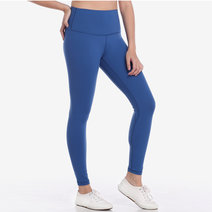 Hold Your Core 7/8s Leggings in French Blue by Core Athletics