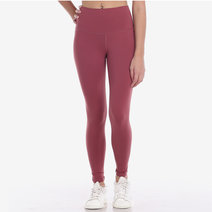 Hold Your Core 7/8s Leggings in Merlot Red by Core Athletics