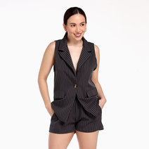 Camille Vest and Shorts Coordinates Set by Morning Clothing