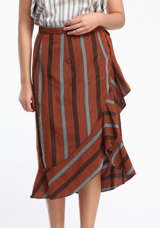 Esmeralda Midi by ANTHILL Fabric Gallery in Brown in S