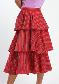 Loro Midi by ANTHILL Fabric Gallery in Red in M