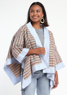 Panyo Kapa by ANTHILL Fabric Gallery in Binakol Light Brown in Free Size