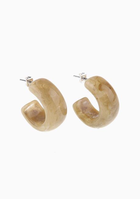 Sophie (Acrylic Hoop Earrings) by Kera & Co