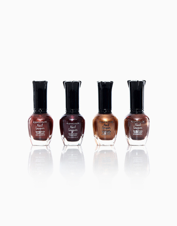 Brown Lacquer Set by Kleancolor