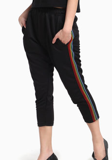 Side Strip Joggers by Fudge Rock