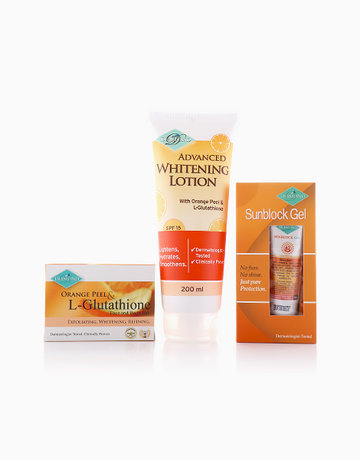 Orange Peel Glutathione Whitening Set by Diamond