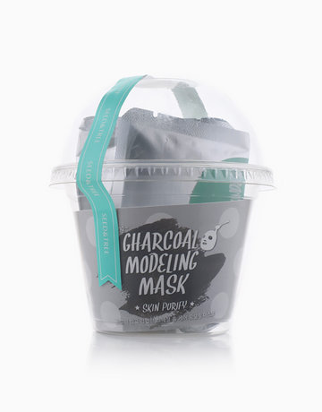 Charcoal Modeling Mask by Seed & Tree