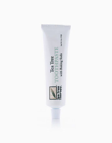 Baking Soda Toothpaste by Tea Tree Therapy