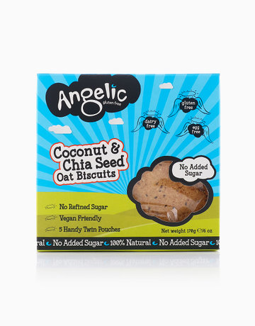Coconut Chia Oat Cookies by Angelic Gluten Free