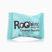 Roobiotic Coconut Guarana Energy Ball (22g) by Roobar