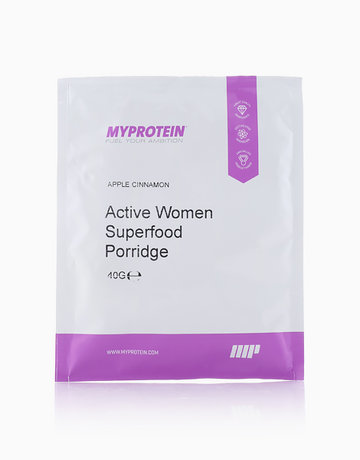 Active Women Superfood Porridge Sachet Apple & Cinnamon Flavor (40g) by MYPROTEIN