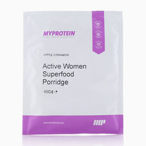 Active Women Superfood Porridge Sachet Apple & Cinnamon Flavor (40g) by MYPROTEIN