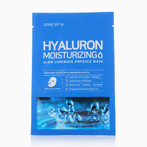 Hyaluron Moisturizing Glow Luminous Ampoule Mask by Some By Mi