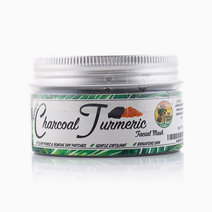 Charcoal Turmeric Facial Mask by The Tropical Shop