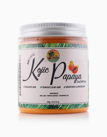 Kojic Papaya Sea Salt Scrub by The Tropical Shop