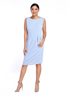 Neta Dress by Chelsea in Light Blue in S