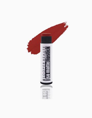 So Matte Lipstick in Columba by Sooper Beaute