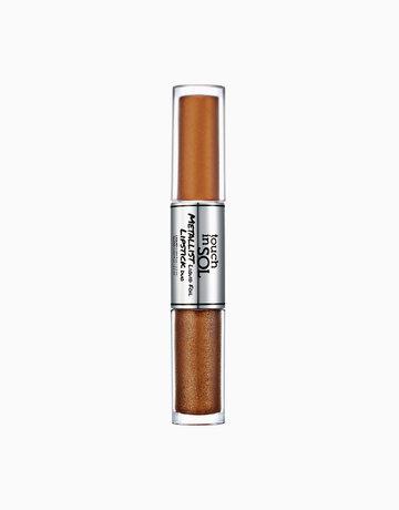 Metallist Liquid Foil Lipstick Duo by Touch in Sol