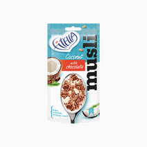 Coconut Muesli with Chocolate (50g) by Fitella