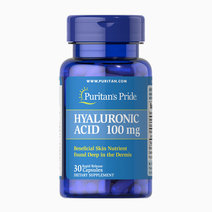 Hyaluronic Acid 100mg (30 Caps) by Puritan's Pride