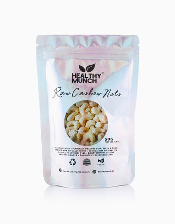 Raw Cashew Nuts (50g) by Healthy Munch