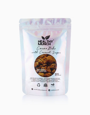 Cacao Nibs Sweetened w/ Coconut Sugar (50g) by Healthy Munch