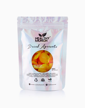 Dried Apricots (50g) by Healthy Munch