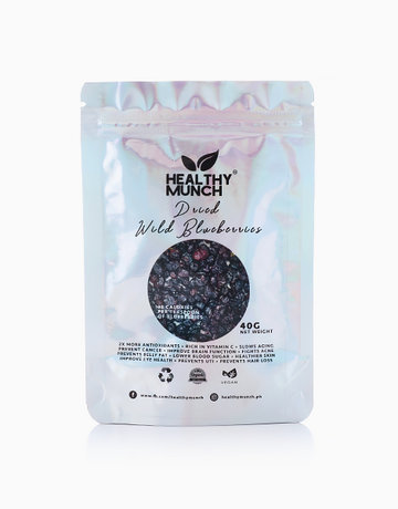 Dried Wild Blueberries (40g) by Healthy Munch