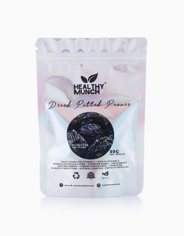 Dried Pitted Prunes (50g) by Healthy Munch